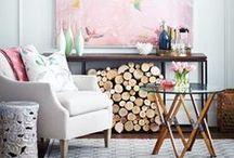 Interiors We Love / #Homedecor styles we like. #decoratingTrends #interiordesign