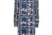 MATTHEW WILLIAMSON dresses / I LOVE his feminime style and patterns...