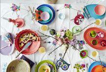 Table Settings / #table #tablesetting #entertaining #brunch #lunch #dinner #plates
