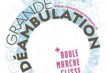 La Grande Déambulation / ROULE, MARCHE, GLISSE SUR LA RD10 Pour la première fois en dehors de Paris, une route à forte circulation située au pied du château de Versailles sera fermée aux voitures pour proposer au public animations et activités, le 29 juin 2014 de 13h à 17h.