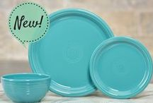 Fresh Out of the Kiln / New product from Fiesta Dinnerware.