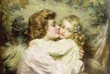 Живопись. Мать и дети