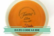 Fiesta History / Fiesta Dinnerware dates back to 1936. Learn about its colorful history here!