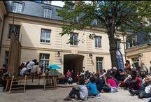 """Mois Molière à VGP / Mercredi 3 juin : """"Petite histoire de la comédie musicale"""" par l'Académie internationale des Arts du spectacle (AIDAS) dans la cour de Versailles Grand Parc"""