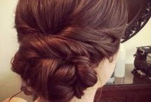 low bun / wedding hairstyle