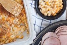 Holiday Meals / Comfort food. Family and friends. That's what the holidays are all about! Get inspired to start planning your holiday meals with Fiesta.