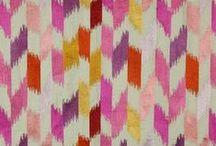 I Can't Get Enough Ikat / Color Ikat patterns