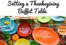 Thanksgiving / Here you will find inspiration for Thanksgiving. Everything from recipes and tablescapes to that feeling of warmth we all cherish in the fall season.
