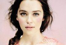 Emilia Clarke / #EmiliaClarke #GameOfThrones #TVSeries #Season #DaenerysTargaryen #Khaleesi