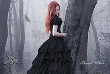 Victorians, Tudors, Steampunk, Claire / dresses