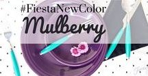 New 2018 Color Mulberry / Fiesta Dinnerware announces its new color for 2018 - Mulberry! Available in June at better department stores, gift shops, .coms and www.fiestafactorydirect.com.