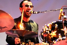 """♪ & RINGO ♪ / Richard Starkey (born July 7,1940), known by his stage name Ringo Starr, is an English musician and actor who gained worldwide fame as the drummer for the Beatles. When the band formed in 1960, Starr was a member of another Liverpool band, Rory Storm and the Hurricanes. He joined the Beatles in August 1962, taking the place of Pete Best. In addition to his drumming, Starr is featured on lead vocals on a number of successful Beatles songs in particular, """"Yellow Submarine"""" & """"Act Naturally"""" / by Paul Davis"""