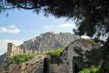 Akronafplia Castle / The castle crowning the hill on the tip of the peninsula over the old part of Nafplio.