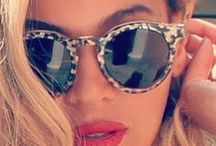 Celebs in Shades / Click to shop discounted pairs of your favorite celebrity's shady looks  / by Eyesave Sunglasses