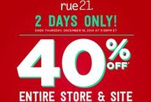 Exclusive Offers! / we'll post our latest deals here (note that these expire after the coupon does!) / by rue21