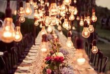 Light Pulps, Lamps & Candle Lit / Beautiful light