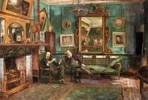 18th & 19th century Artists Houses and Studios / Decorative, artistic and eclectic interiors of eighteenth and nineteenth century London and Europe artists houses and studios
