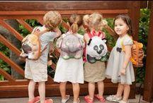 Rugzakken, schoudertassen en schooltassen voor peuters, kleuter en kids / De leukste rugzakken, rugtassen, schoudertassen en lunchtassen en lunchboxen voor peuters en kids. Handig om mee te nemen naar de peuterspeelzaal, school, kinderdagverblijf of voor de gymles. http://www.ikbenzomooi-baby-kinderen-kleding.nl/kado-verzorging/tas-trolley/
