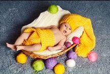 Breisels voor baby's / Breisels voor baby's zijn hot. Daarom nu een heel bord vol met alleen maar gebreide producten voor baby's en kinderen.