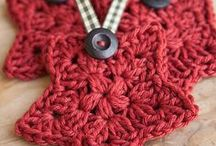 Holiday crochet / Holiday crochet, Christmas crochet, crocheted ornaments and holiday patterns