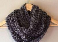 Scarf crochet patterns / Crocheted scarfs, crochet scarf patterns, easy scarf patterns