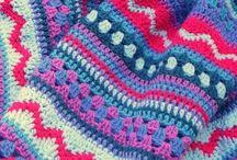 Crochet battaniye