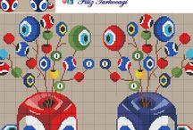 Türkocağı cross stitch