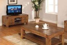 Santana Rustic Oak Furniture / Reclaimed oak with a rich and rustic look