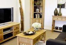 Hereford Rustic Oak Furniture / Extensive & versatile, built from rustic oak hardwood