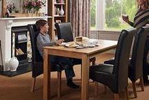 Lansdown Oak Furniture / Sleek contemporary modern style