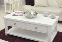 Hampton White Furniture / Shabby Chic New England Colonial Style