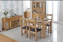 Cherbourg Oak Furniture / Classic Clean Design, Made from Solid Oak. For the Living, Dining Room and Bedroom
