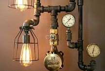 !!! Industrial Lighting / Warehouse style industrial lighting for your modern or traditional home