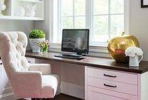 Home Office pro Virtuální Asistenty / Načerpejte inspiraci pro zařizování domácí kanceláře.