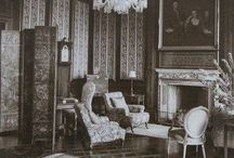 Historic Interiors / Images of historic interiors, furnishings and decorations.