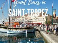 """Saint-Tropez Travel Tips / We spend a few days in beautiful Saint-Tropez and its region and because it is low season, we see everything from its true and authentic side without any mass-tourism. We walk along the harbor, drink espresso in the traditional and prominent café """"Senequier"""" and gaze at the people walking by and the super expensive Yachts .... Read all about our wonderful stay in Saint-Tropez, France…  A trip through South of Europe - Experiencing the Local Life: https//blog.2B-LOCAL.com #2BLOCAL #France"""