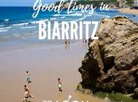 Biarritz Travel Tips / Whoever thinks Biarritz is a place for old ladies with little dogs is wrong…because this elegant seaside resort, that is located on the rough Atlantic Ocean, has been a hot-spot for surfing since the 60's and offers great surfing conditions all year round. We quickly decide, this is the right place to be.... Read all about our magnificant stay in Biarritz, France... A trip through South of Europe - Experiencing the Local Life in Biarritz, France: https//blog.2B-LOCAL.com #2BLOCAL #France