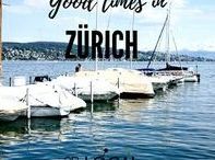 """Zurich Travel Tips / Our first stop takes us to Zurich, Switzerland. On a sunny day and mild temperatures around 25 degrees, we decide to enjoy the Swiss """"Gemütlichkeit"""" (coziness) and spent some days to relax at the beautiful Lake Zurich with breathtaking views over the water and surrounding Alps with snow-covered peaks. Read all about our relaxing stay in Zurich, Switzerland... A trip through South of Europe - Experiencing the Local Life: https://blog.2B-LOCAL.com #2BLOCAL #Switzerland"""