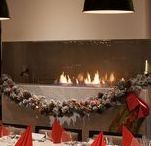 Xmas decoration with Bioethanol Fireplaces / Ideas for Christmas decoration with bioethanol fireplaces