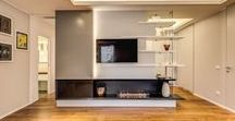 Stylish fireplace design by Advanced Living Solutions; Architect:Mattia Oliviero Bianchi / Perfect solution of bioethanol fireplace in a private residence with no possibility to other solution. Ventless fireplace in the centre of the room catch the attenion