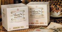 VICTORIAN PACKAGING / The Thompson Tea and Coffee Company based in Britain has been importing their products from Kenya for almost 150 years, so it would mean they started their trade journey during The Victorian Era. This was my starting point of the concept development.