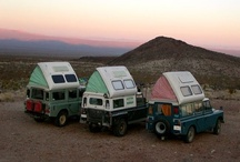Camping / Motorhome -  Trailers - Camper - Travel - expedition vehicle / by Chico Lam