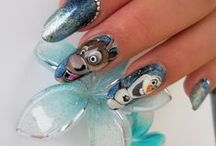 Cartoons on my nails / by Anais SuperNana