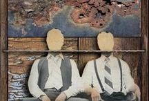 Assemblage Art - Collage Work / by jenijolinna