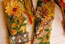 sewing and crazy quilting / by Pam Bryson