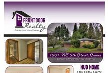 HUD Home Advertisements and Photo Lists / Featured HUD home listings courtesy of Front Door Realty in Vancouver, Washington.  #HUDhome #HUDhomes #VancouverWA #HomesForSale #FrontDoorRealty #FrontDoorNW #HUDHomesForSale #HUDowned #HUDpropertiesForSale