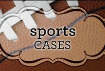 Sports Cases / An array of cellphone cases inspired by all your favorite sports!