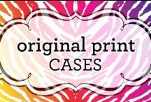 Original Prints Cases / Original designs inspired by prints!