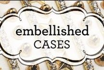 Embellished Cases / If sparkle and studs are your kind of style, these cases would be perfect for you!