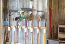 Garage & Storage Room / Organized Garage & Storage Rooms